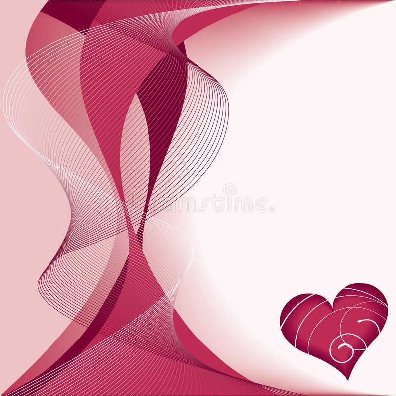 Coeur rouge illustration stock