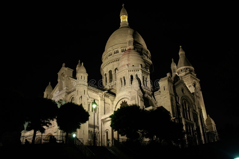 Coeur Sacre 免版税图库摄影