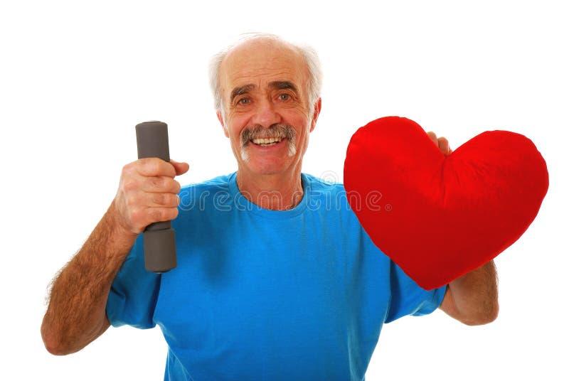 Coeur sain photo libre de droits
