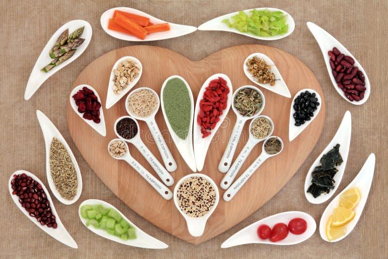 Coeur sain Superfood photo libre de droits
