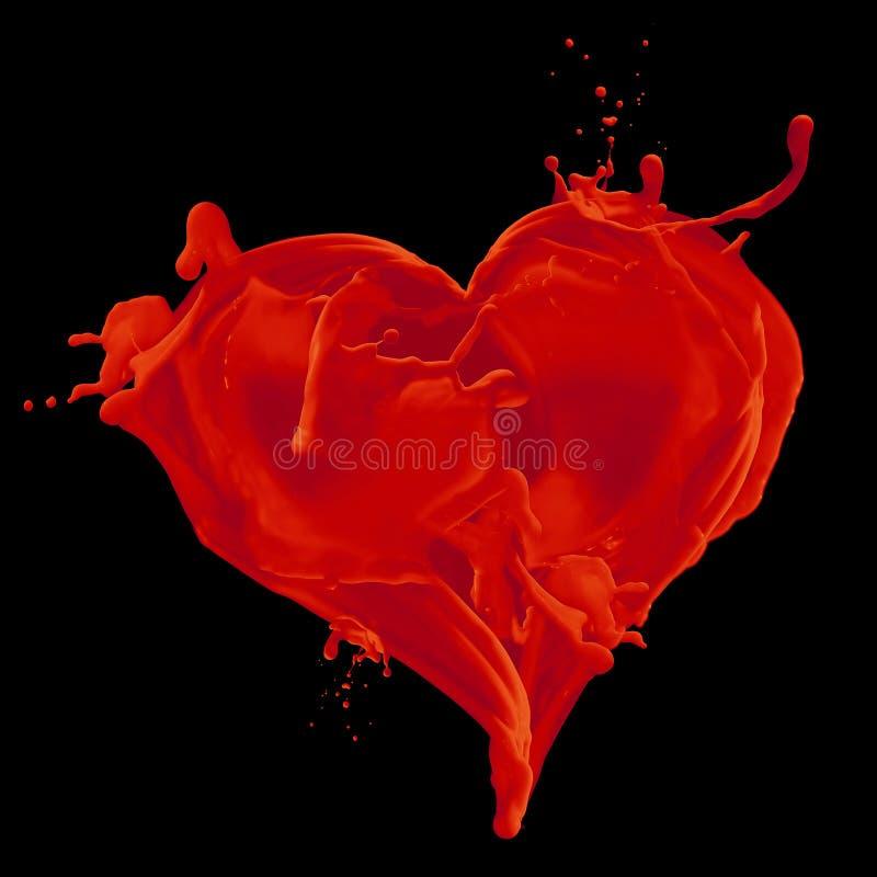 coeur sanglant illustration de vecteur