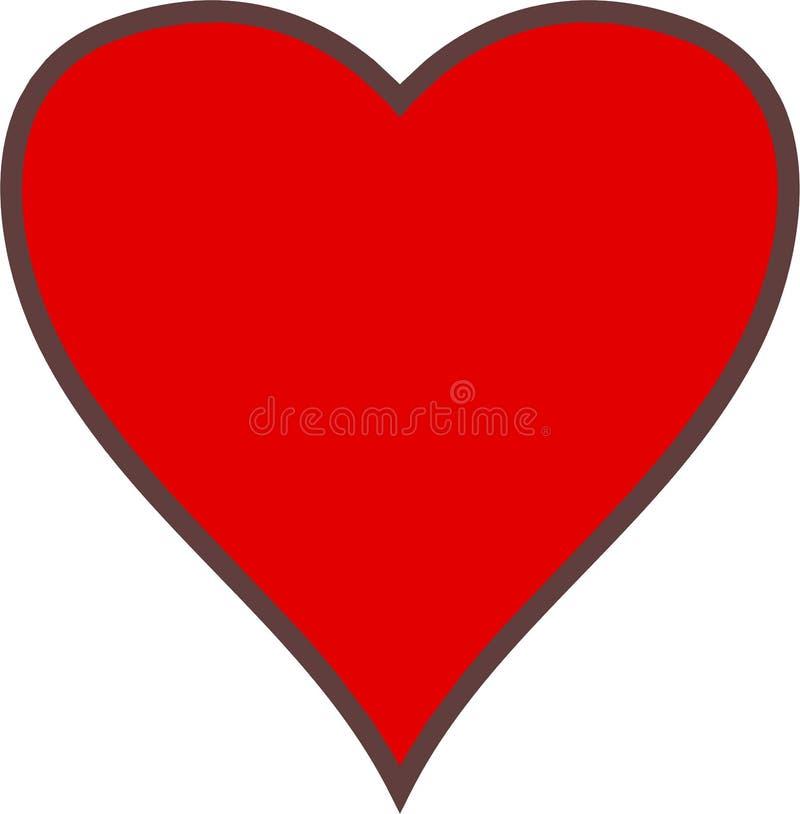 Coeur simple illustration stock