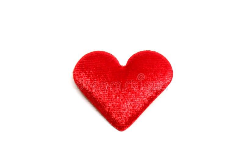 Coeur sur le fond blanc photos libres de droits