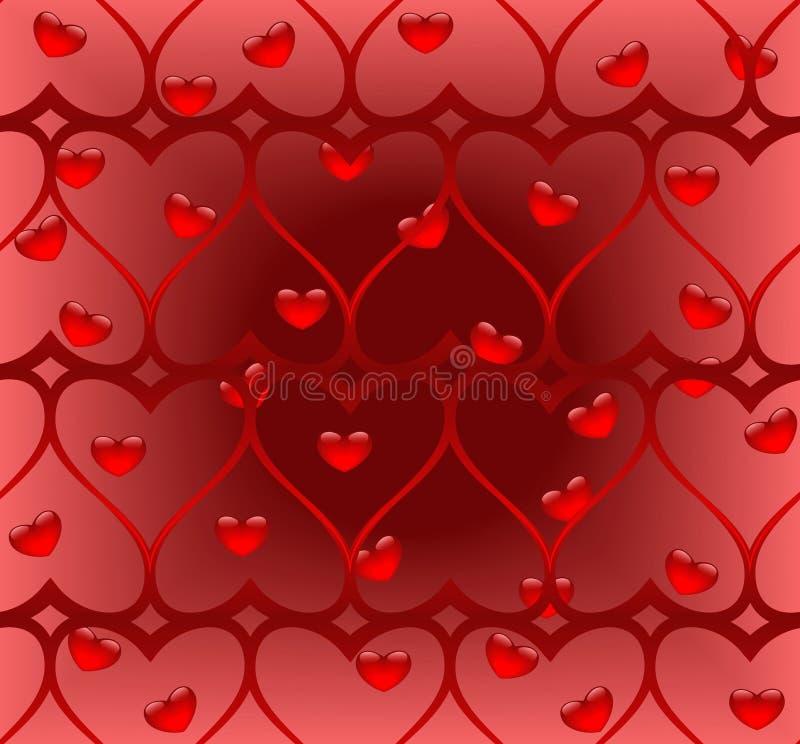 Coeur tordu (configuration sans joint) illustration libre de droits