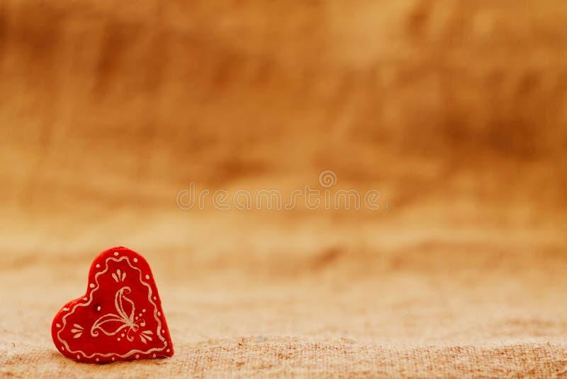 Coeur un jour du ` s de St Valentine de fond de turquoise image libre de droits