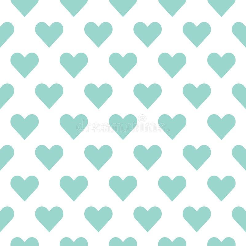 Coeurs pour le jour de Valentine s Sentiment et amour romantiques illustration stock