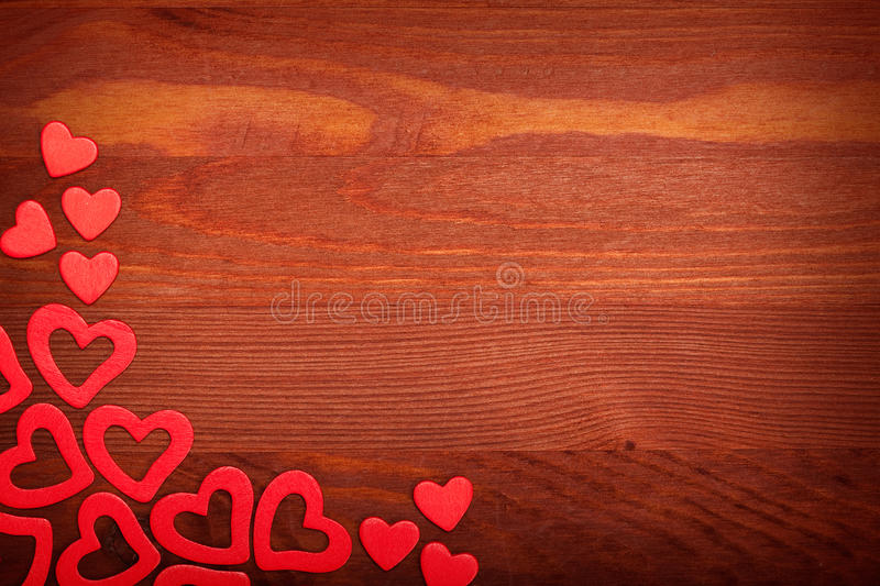 Coeurs rouges photo stock