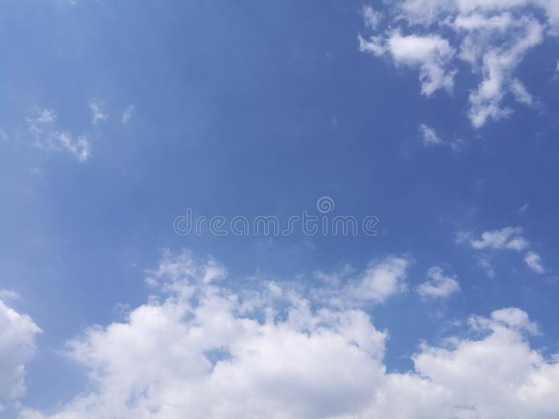 Amazing clouds in the sky on a nice and warm day. Cof amazing clouds sky nice warm day stock photos