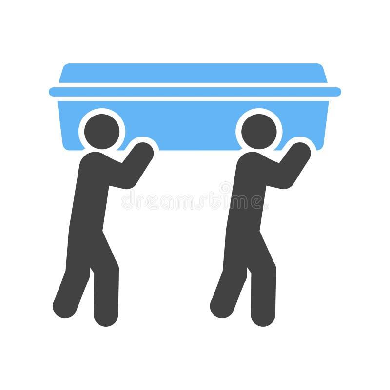 Cofanetto di trasporto illustrazione di stock