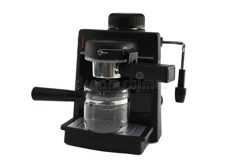 cofee制造商 免版税图库摄影