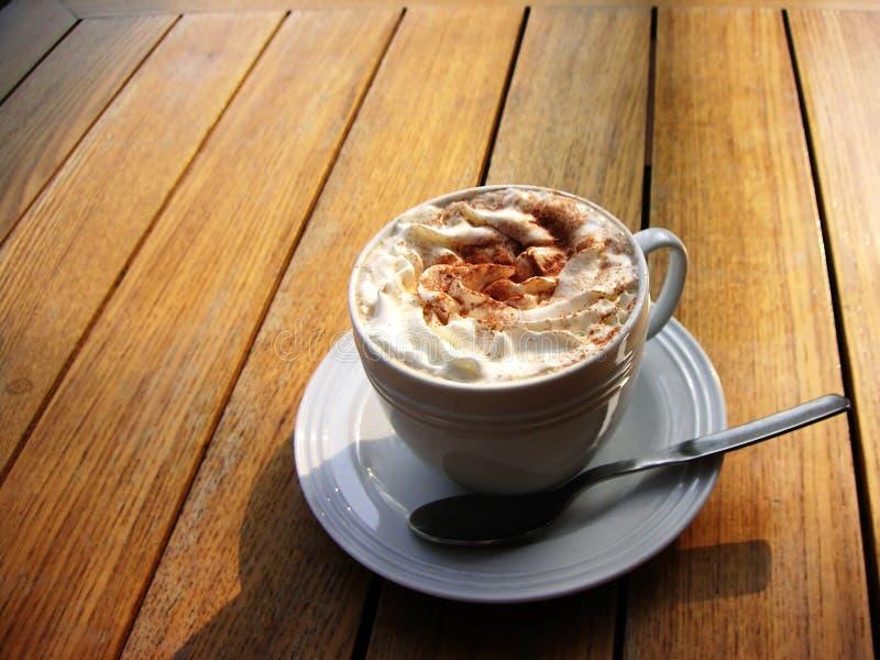 cofee甜点 免版税图库摄影