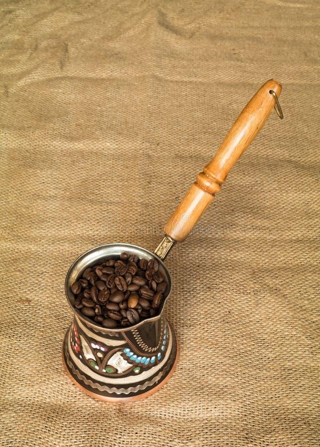 Cofee harar etiopico fotografia stock