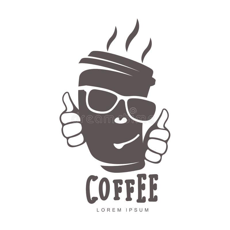 cofee logo ilustracji