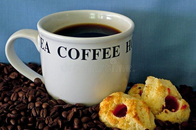 Download Cofee Zeit 2 stockfoto. Bild von espresso, mokka, mittagessen - 35536