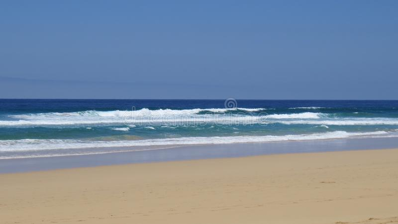 Cofete Beach Waves royalty free stock photos