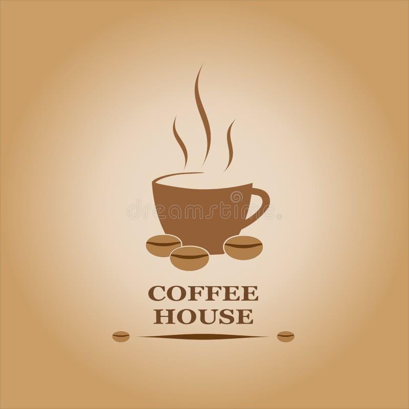 Coffe房子 库存照片