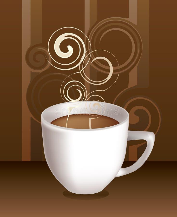 coffe杯子向量 向量例证