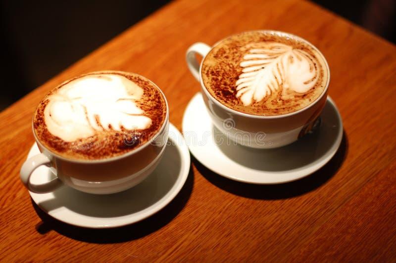 coffe杯子浓咖啡二 库存照片