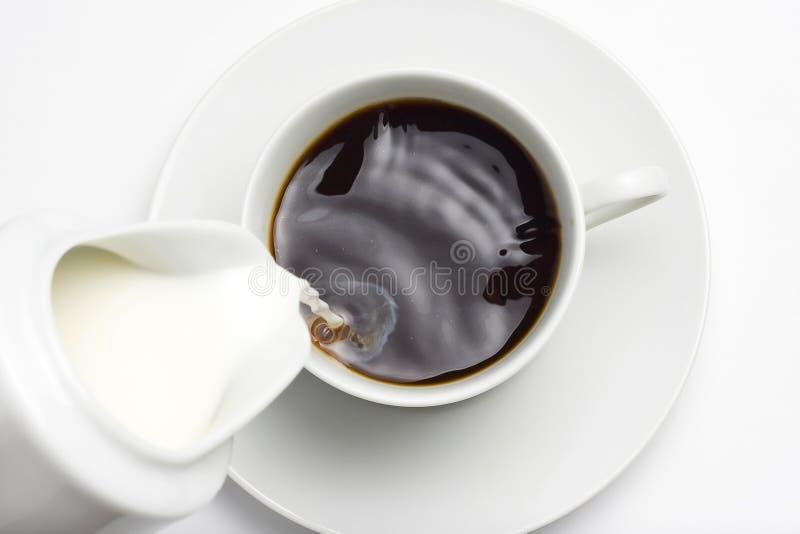 coffe杯子浓咖啡 免版税图库摄影