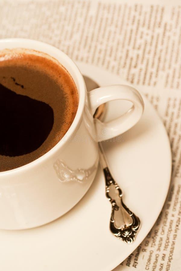 Download Coffe φλυτζάνι στοκ εικόνες. εικόνα από άσπρος, κουτάλι - 13176314