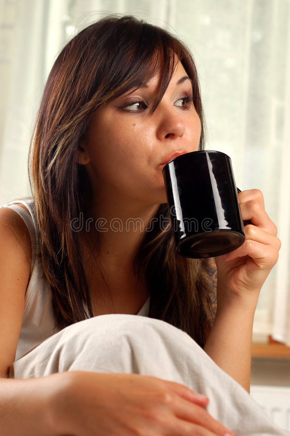 Coffe #9 de matin image libre de droits