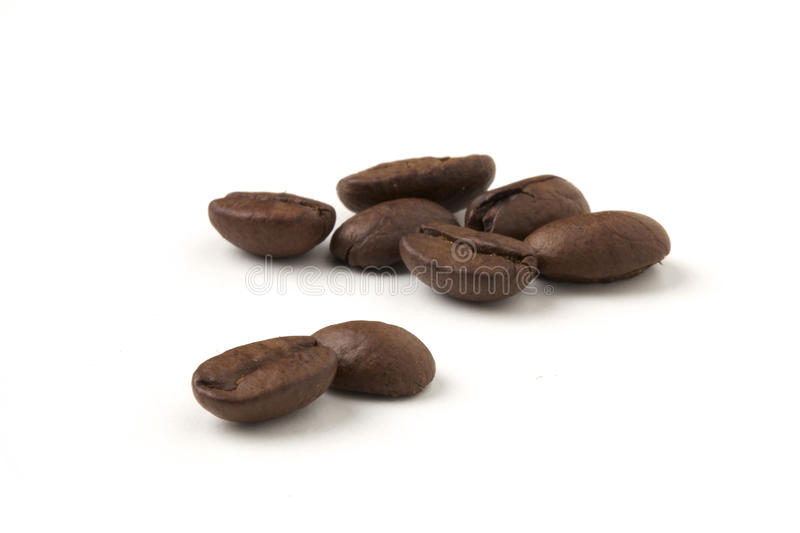 Coffe beans - caffe espresso royalty free stock photography