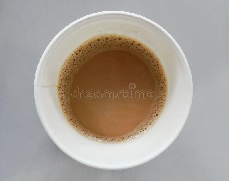 Coffe caliente por la mañana foto de archivo libre de regalías