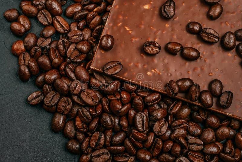 Coffe et chocolat photographie stock libre de droits