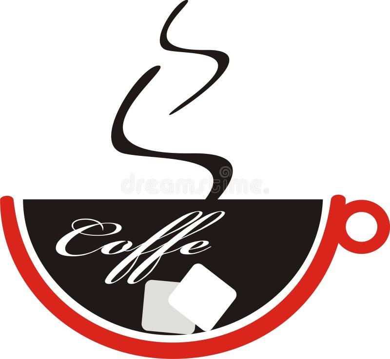 coffe filiżanka royalty ilustracja