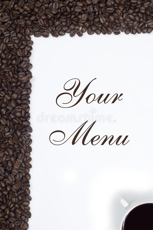 Coffe Frame royalty free stock images