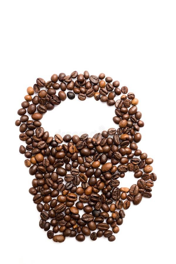 Coffe-Kornschale stockfotos