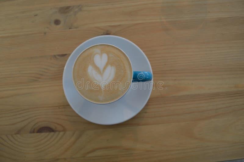Coffe latte sztuka zdjęcia royalty free