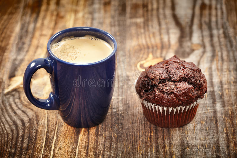 Download Coffe and muffin breakfast stock photo. Image of object - 37242616