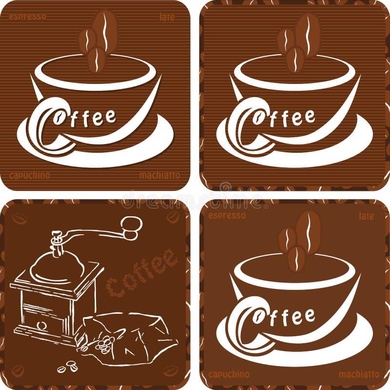 coffe pictos ilustracja wektor