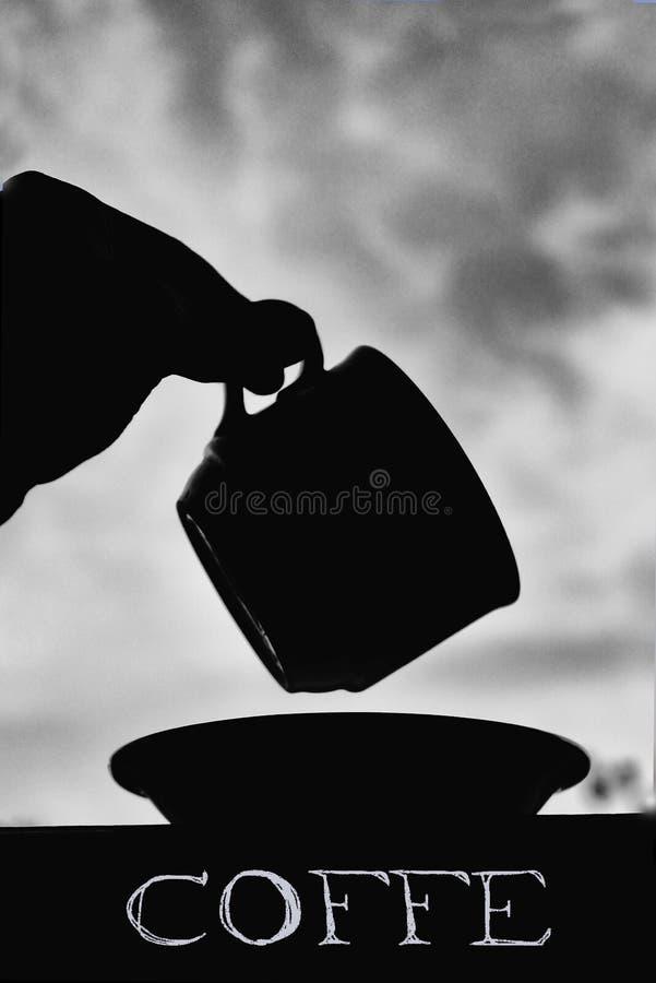 Coffe preto imagens de stock
