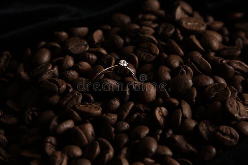 Coffe ring stock photos