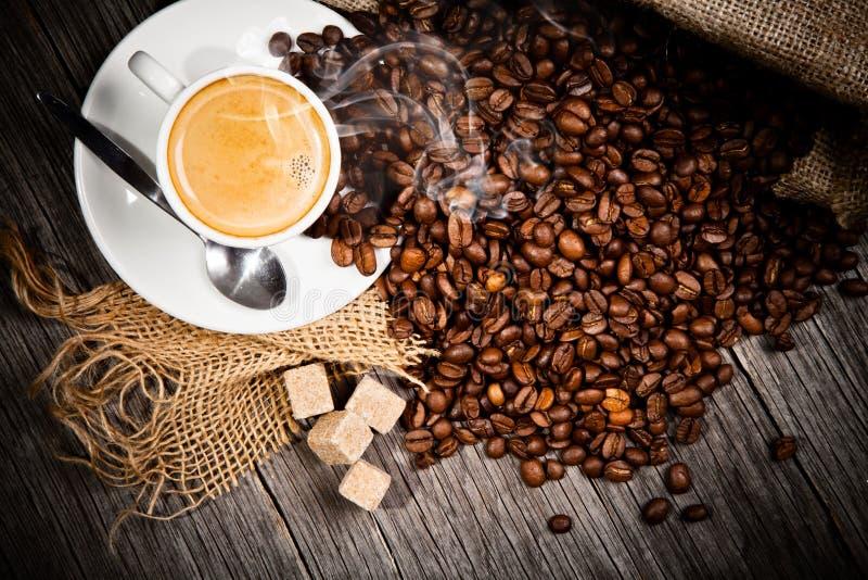 Coffe stilleben royaltyfri bild