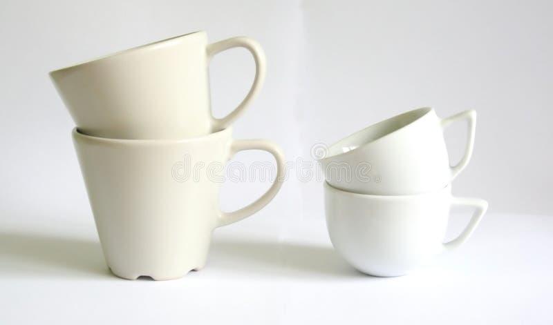 Coffe-sups imagem de stock