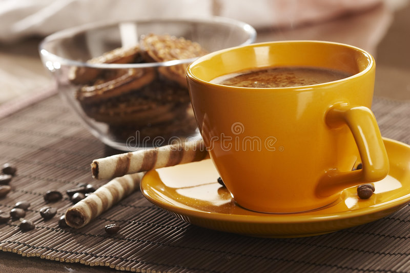Coffe time royalty free stock photo