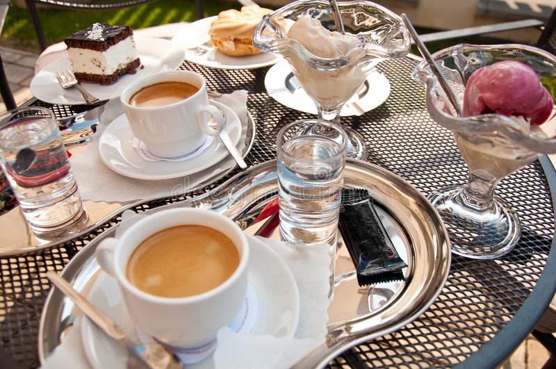 Download Coffe time stock image. Image of glass, sugar, relax - 34374067
