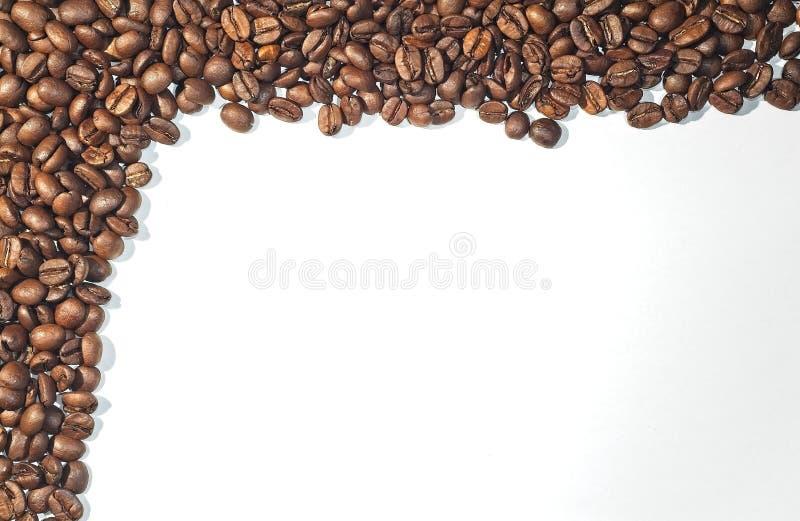 Coffe beans frame stock photos