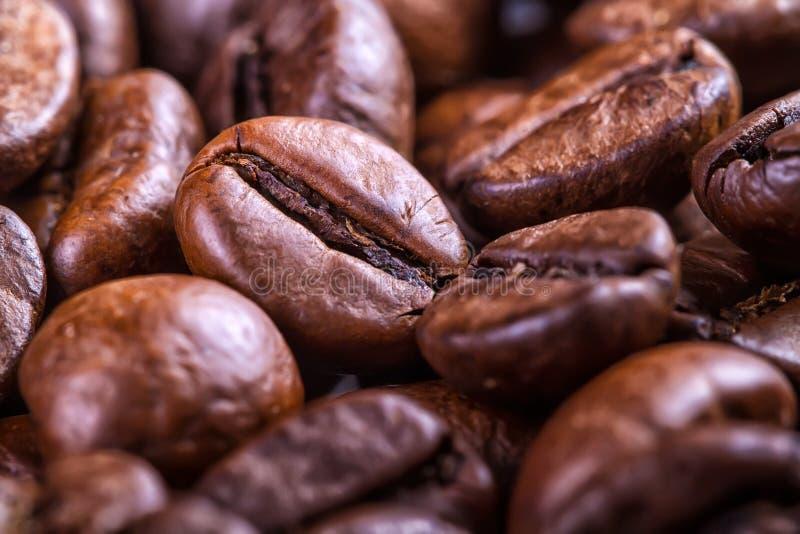 Coffebonen stock afbeelding