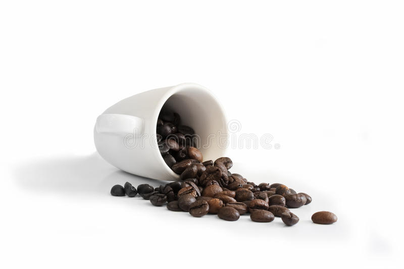 Download Coffee stock image. Image of cafe, food, white, decaf - 10055407
