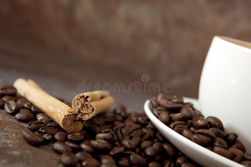 Download Coffee stock image. Image of focus, white, soft, background - 14856815