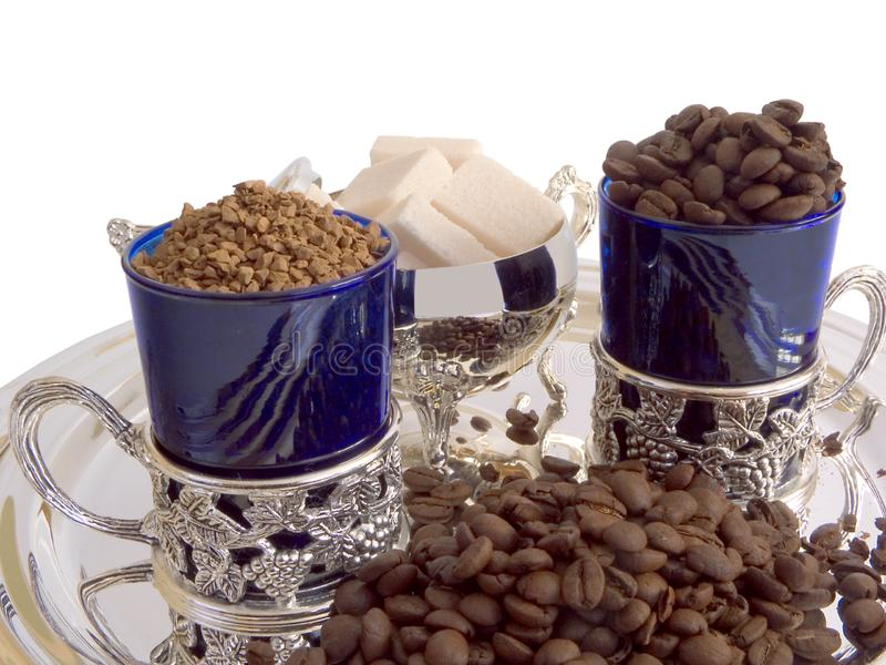 Download Coffee 16 stock photo. Image of shine, mill, aroma, blue - 630004