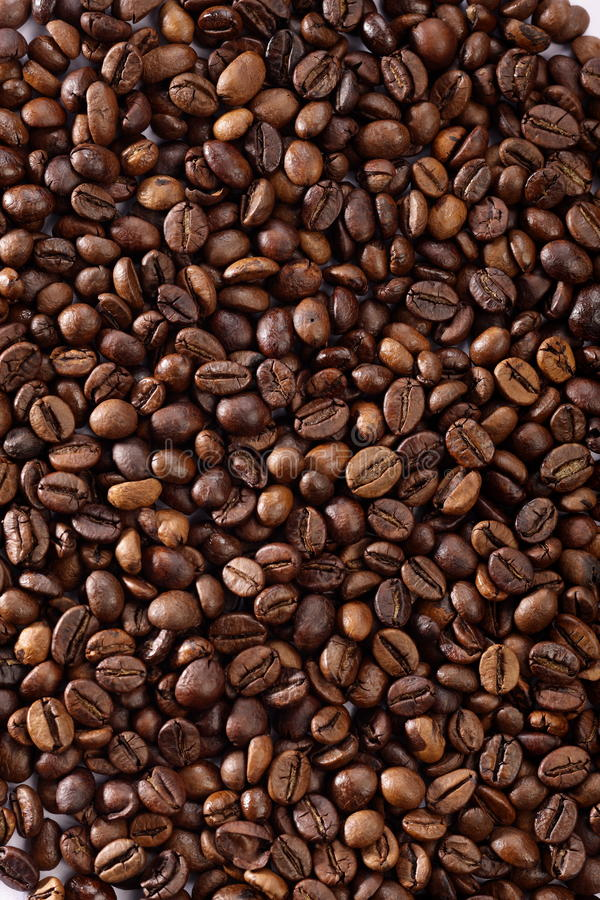 Coffee. Fresh roasted coffee in high quality photograph details royalty free stock photos