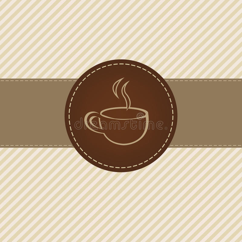 Download Coffee stock vector. Illustration of beverage, cappuccino - 19456564