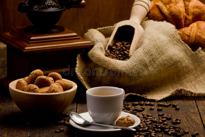Download Coffee stock image. Image of aroma, close, linen, basket - 22837583