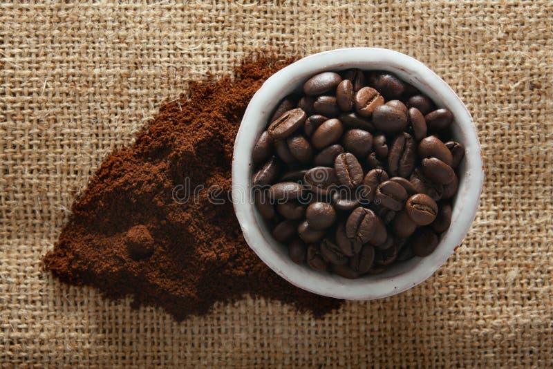 Download Coffee stock photo. Image of brown, burlap, beverage - 23701518
