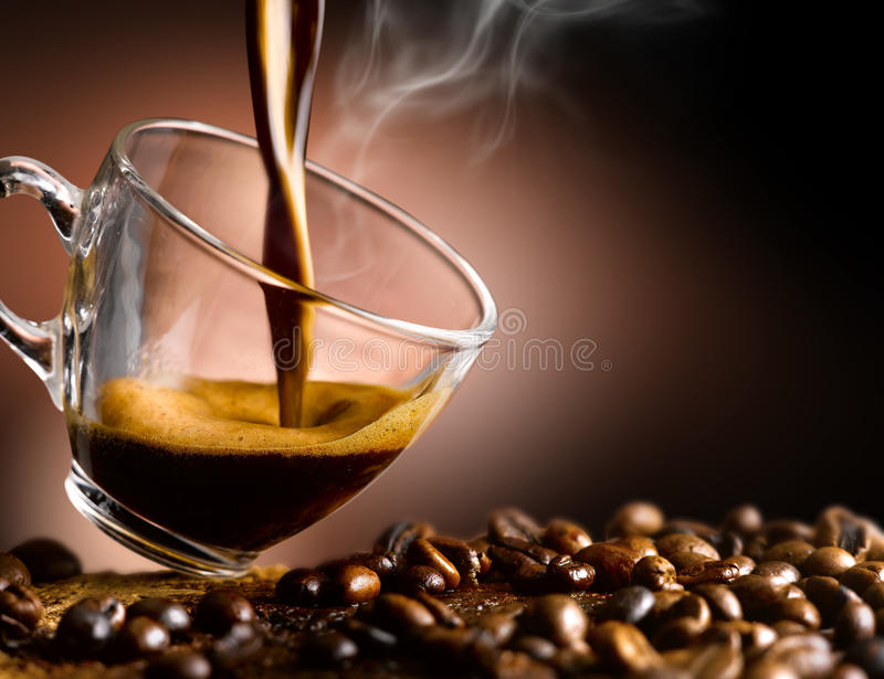 Coffee fotografia royalty free